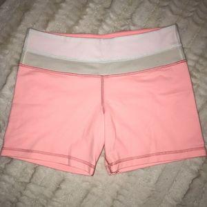lululemon pink shorts size 6 *NWOT'S*